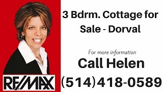 3 Bedroom Cottage For Sale Dorval - House for Sale Dorval West Island Montreal