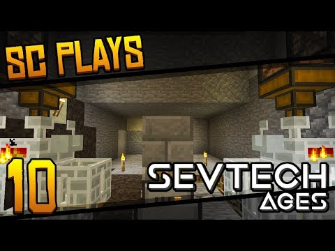 SevTech Ages | AUTO-SMELTING | Part 10 [Let's Play Minecraft 1.12.2]
