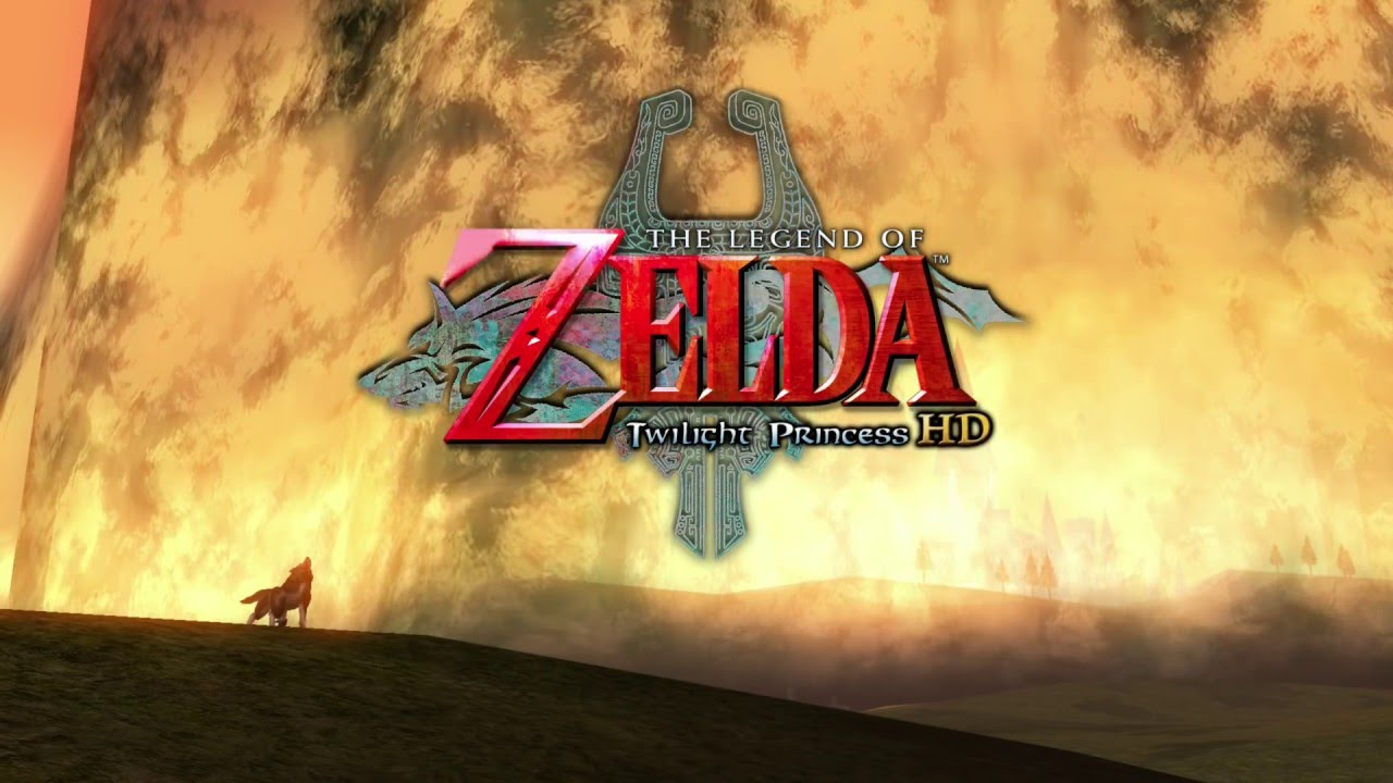 The Legend Of Zelda Twilight Princess Hd Intro Title Screen