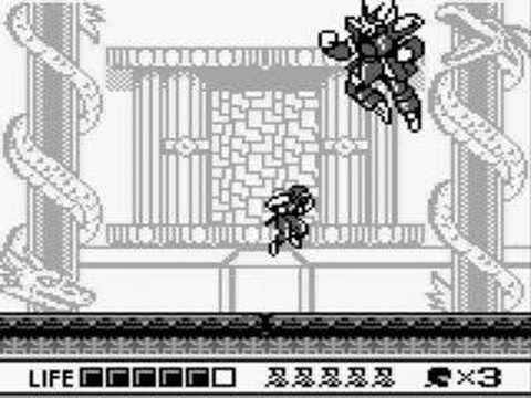 Ninja Gaiden Shadow Gameboy Final Stage 5 Ending Youtube