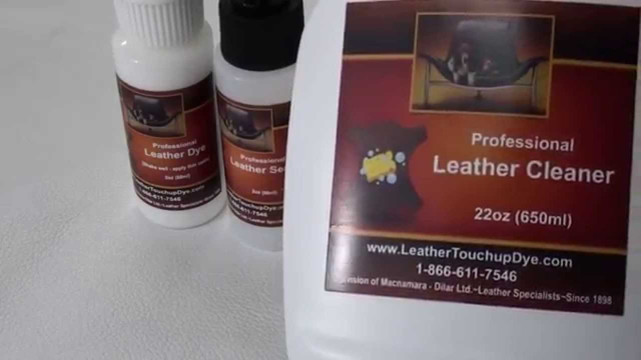Exceptionnel FIX Or Repair White LEATHER Couch   YouTube