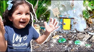 MAGICAL TREASURE HUNT!! WE FOUND A REAL FAIRY!