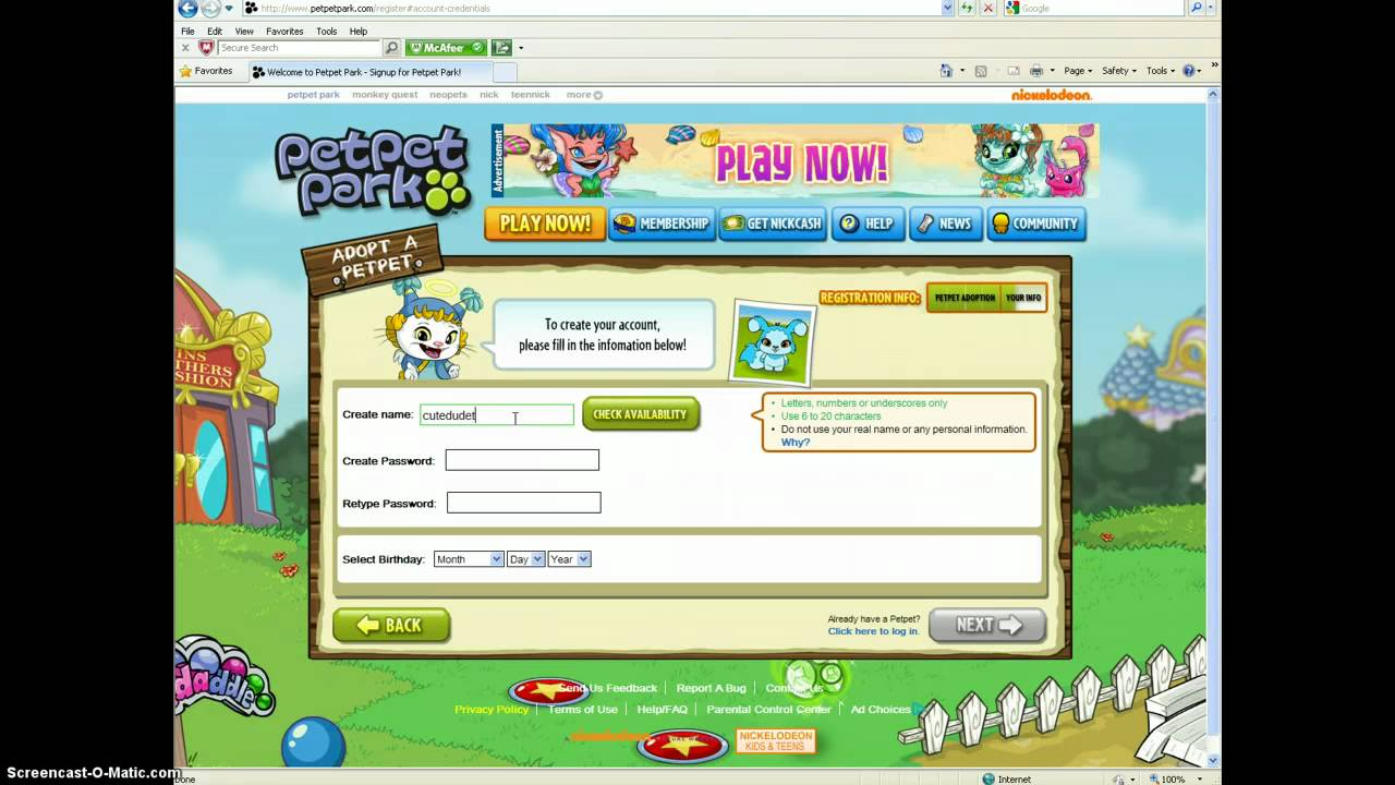 PetPet Park account - YouTube