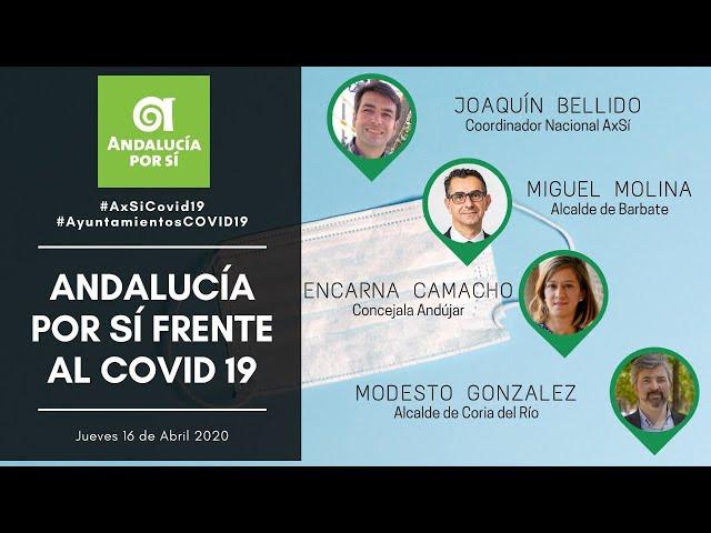 #WebinarAxSí AYUNTAMIENTOS FRENTE AL COVID-19