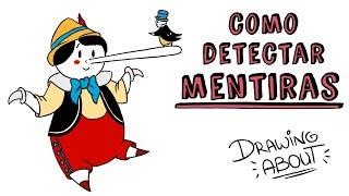 COMO DETECTAR MENTIRAS | Draw My Life