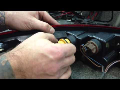 porsche 997 led tail light installation guide 6speedoline