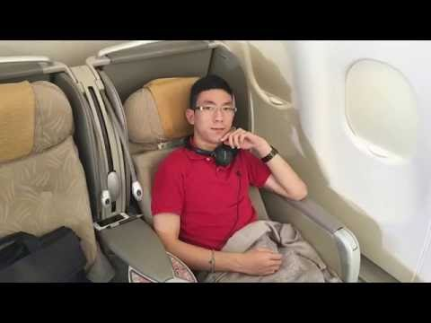 Asiana Airlines BUSINESS CLASS Taipei To Seoul|Airbus A330-300