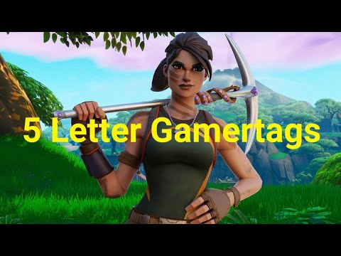 Clean OG 5 Letter Fortnite Gamertags Not Taken 2019 (Xbox/PS4) Pt 19