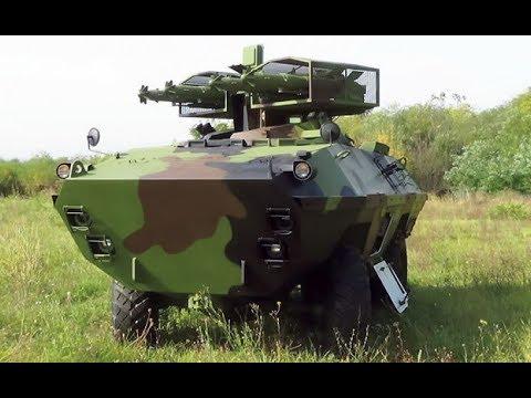 Modernizovani lovac tenkova BOV-1 POLO M-83 - Modernized Tank destroyer APC BOV-1 POLO M-83