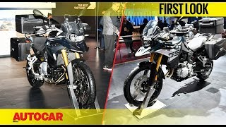 BMW F750 GS | Auto Expo 2018 | First Look | Autocar India