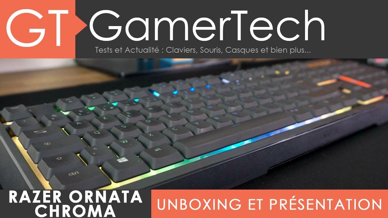 Razer Ornata Chroma - Unboxing & Test [FR] - Le premier clavier  méca-membrane de la marque !
