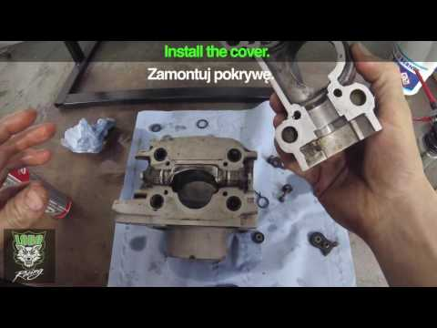 Zawór wydechowy KTM | Power valve cleaning and service. | Lobo Moto
