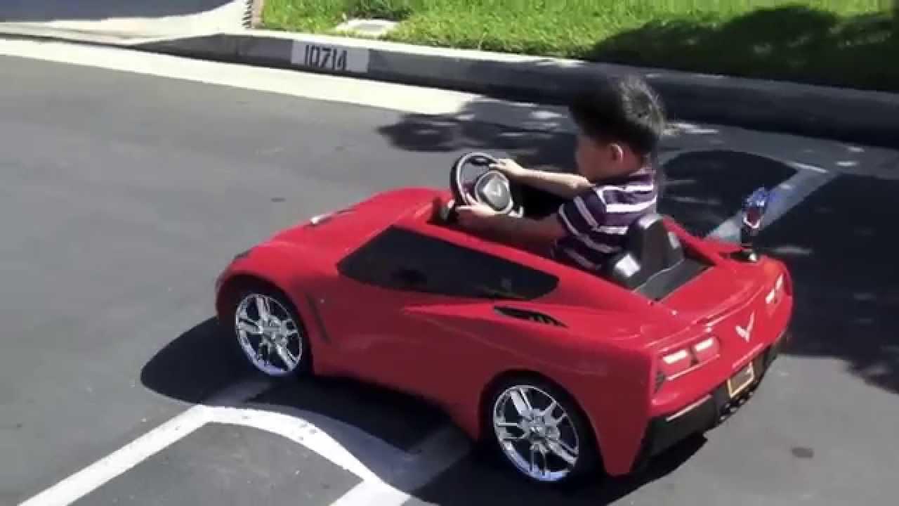 4 Seater Corvette >> 2014 Corvette Stingray C7 - Seventh Generation Chevrolet Corvette - Fisher Price Power Wheels ...