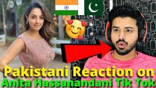 Pakistani React on Anita Hassanandani TIKTOK VIDEOS   Indian Actress   Reaction Vlogger