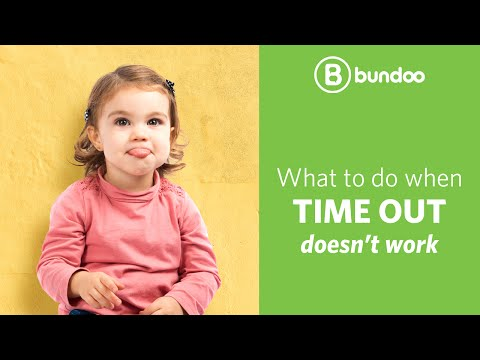 What to do when time out doesn't work