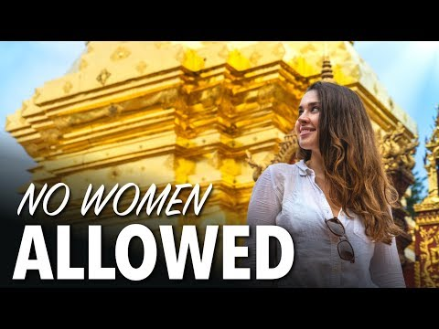 TEMPLES IN CHIANG MAI - Why Women Can't Enter