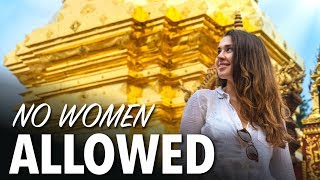TEMPLES IN CHIANG MAI - Why Women Can