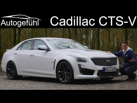 Cadillac CTS-V FULL REVIEW Carbon Black Edition 2018 Sound & Acceleration - Autogefühl