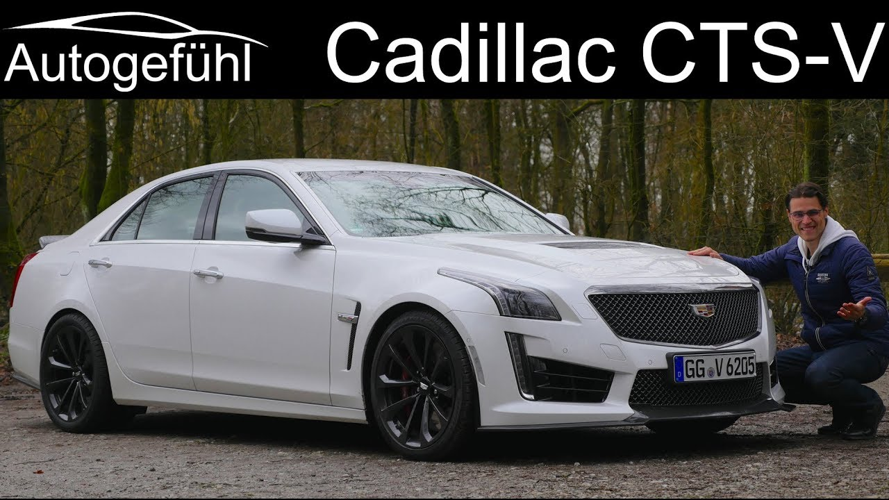 Cadillac Cts V Full Review Carbon Black Edition 2018 Sound