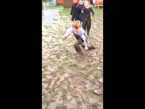 Lumpy Hill Adventure Playground - Mud Play