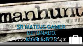 MANHUNT 2 DETONADO (PS2) o começo (01)