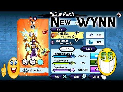 Mutants Genetic Gladiators    New Wynn 8 Millions of credit / RichardCrTV