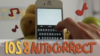 La canzone dell'autocorrect dell'iPhone