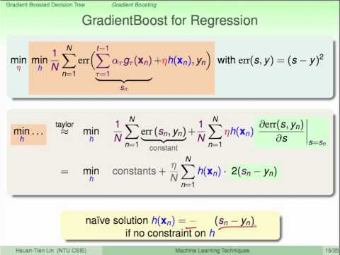 Gradient Boosted Decision Tree :: Gradient Boosting