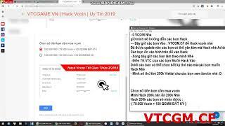 Hack Vcoin T   Hướng dẫn hack vcoin tết 2019 HOT thành công 100% Uy Tín