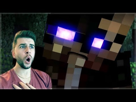 REACTING TO ZOMBIES INFECTION MOVIE! WAS THAT HEROBRINE ZOMBIE! Minecraft Animations!
