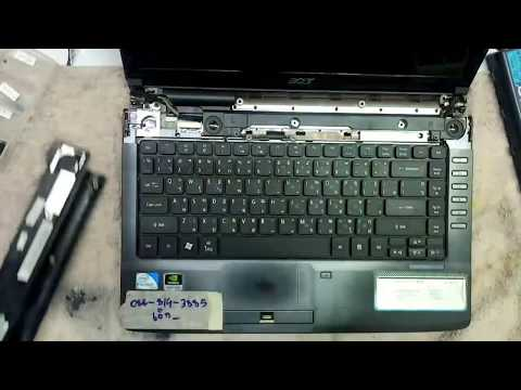 How To Replace New Keyboard Acer Aspire 4736 4540 Laptop