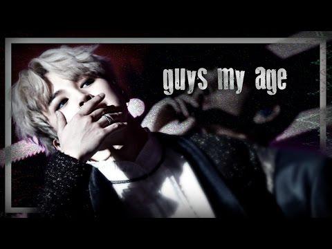 park jimin → guys my age