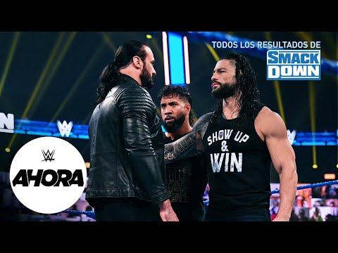 REVIVE SmackDown en 7 minutos: WWE Ahora, Nov 13, 2020
