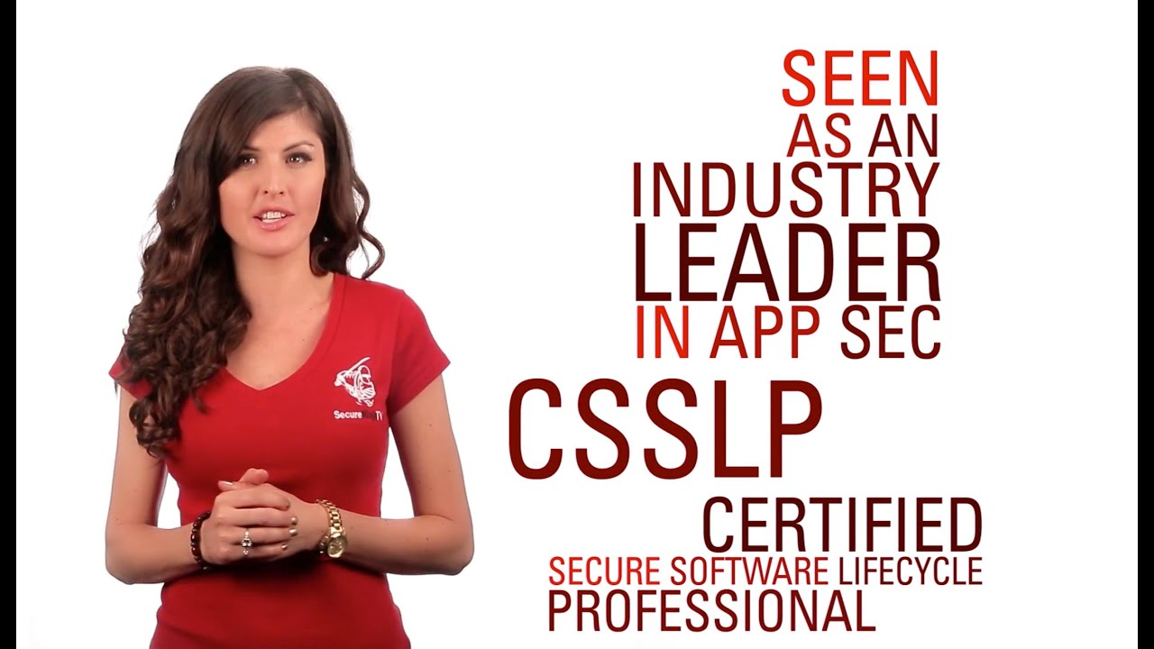 Csslp Certified Secure Software Lifecycle Professional Training