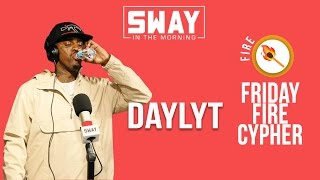 Friday Fire Cypher: Daylyt Freestyles Live on Sway in the Morning
