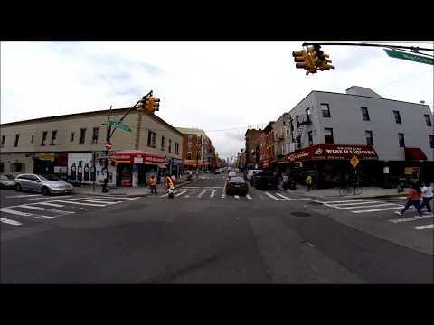 Manhattan Avenue, Greenpoint, Polish neighborhood, New York USA Polska dzielnica w Nowym Jorku