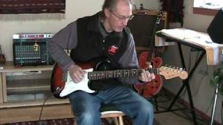 Got To Get You Into My Life - Beatles Cover -  Baritone Fender Strat Solo