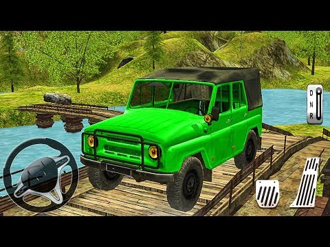 OffRoad 4x4 Jeep Hill Driving - Mountain Uphill Climb Drive - Android Gameplay