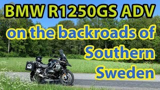 BMW R1250GS Adventure: A Sunday ride, southern swedish countryside