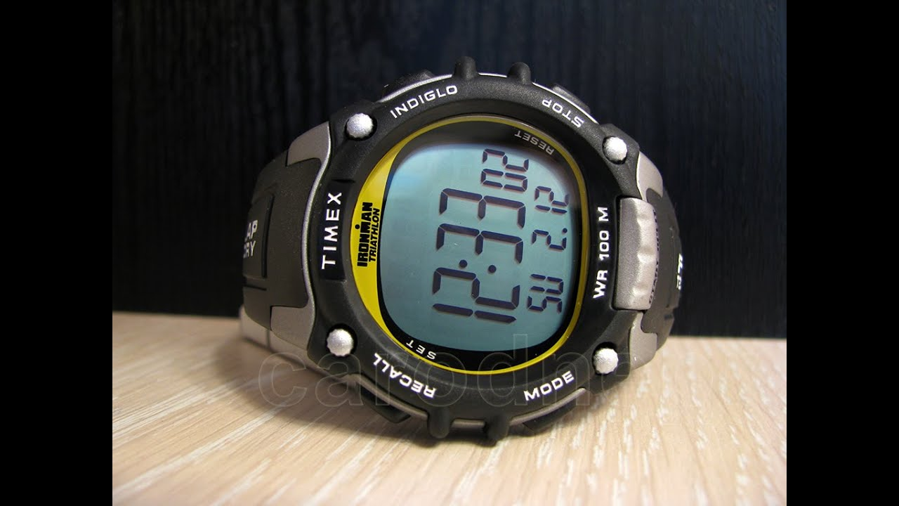 83ca87e57776 Timex T5E231 Ironman Traditional Watch - YouTube