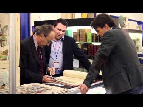 Rare Book Paradise at 2012 California Internat'l Antiquarian Book Fair