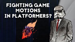 What If Platformers Had Fighting Game Motions? | BoukenJima