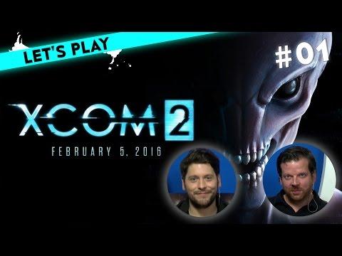 [1/2] Let's Play Xcom 2 mit Simon und Garth Deangelis - Senior Producer bei Firaxis | 11.12.2015