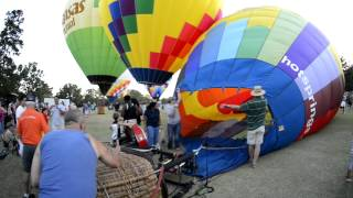 The Great Balloon Race in Little Rock