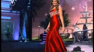 Migebelis Castellanos En Traje De Gala En El Miss Universe 2015