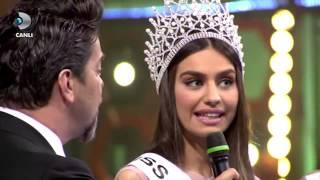 Miss Turkey güzelleri ile Beyaz'ın güldürdüren diyalogları Beyaz Show