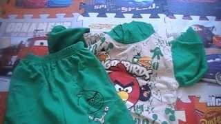 Обзор детского костюма с Angry Birds