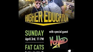 higher education performing chasing highs live at original fat cats fort lauderdale fl