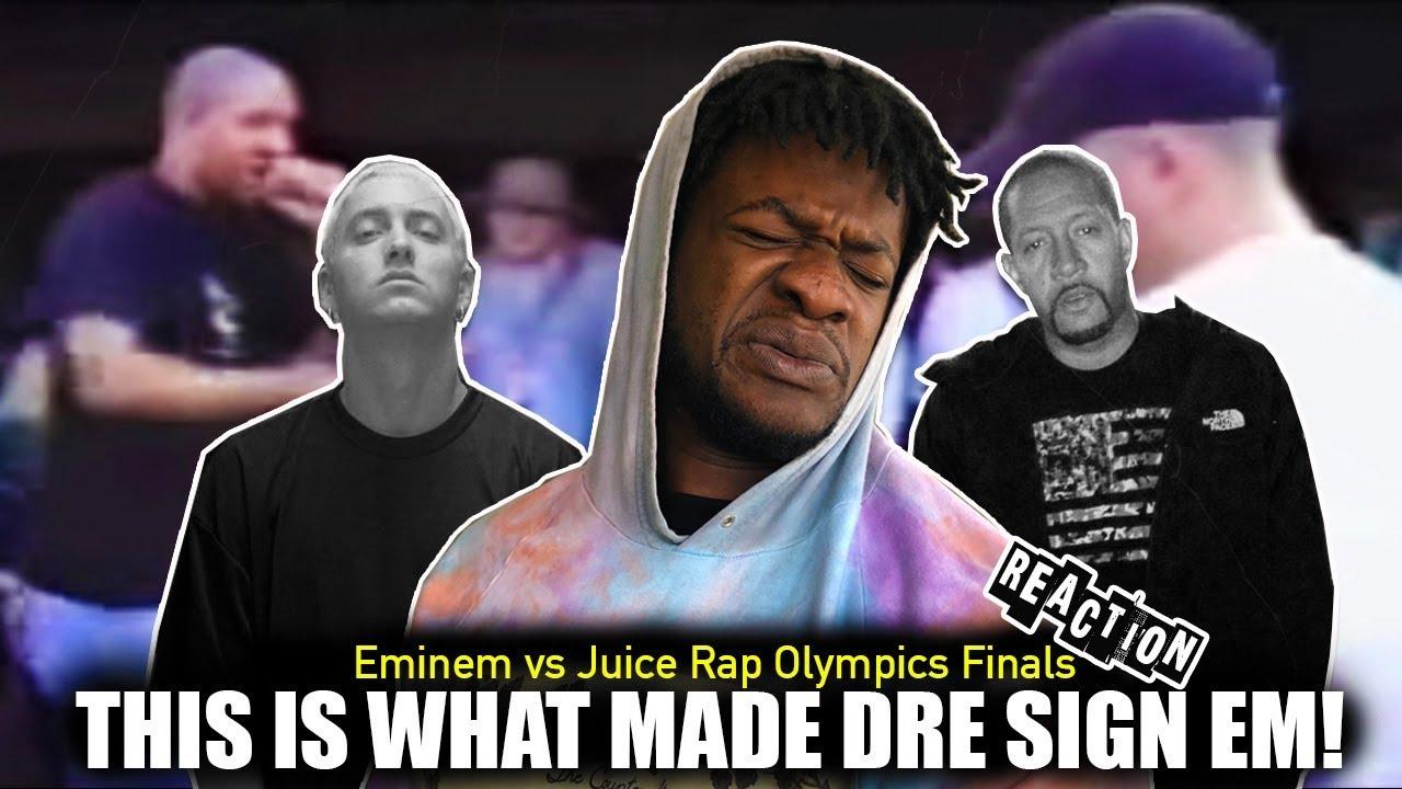 Eminem freestyle rap o...