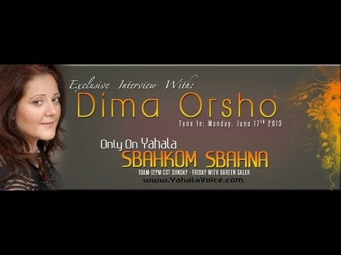 Dima Orsho on Yahala Voice